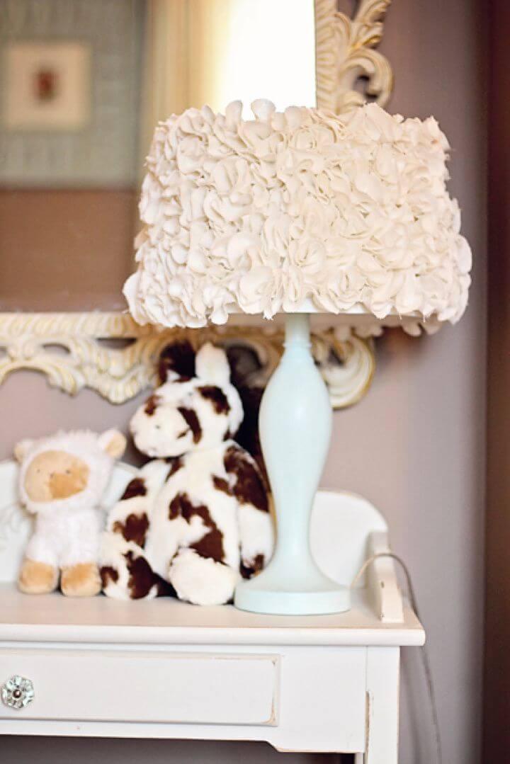 Simple DIY Anthropolgie Inspired Lamp