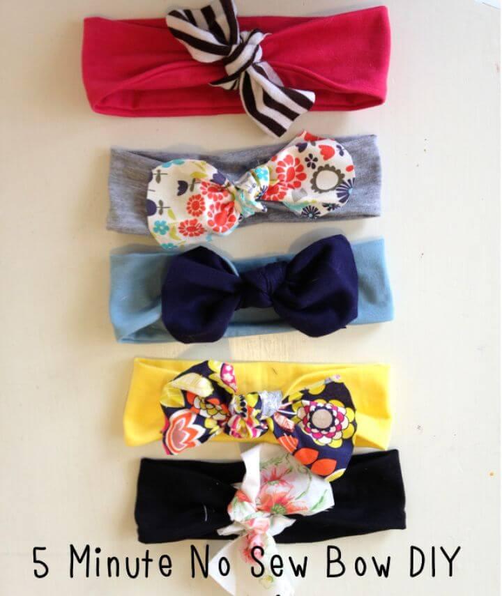 5 Minute No Sew DIY Headband
