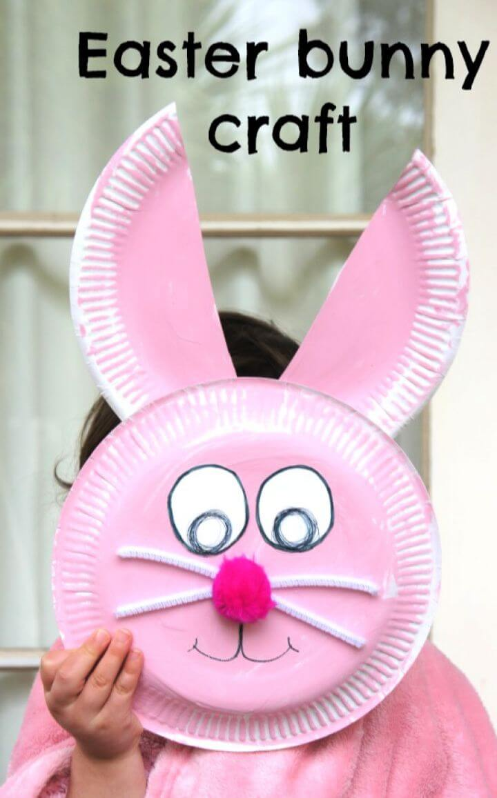 Best DIY Easter Bunny Paper Plate Craft