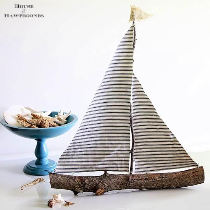 Build A DIY Rustic Sailboat
