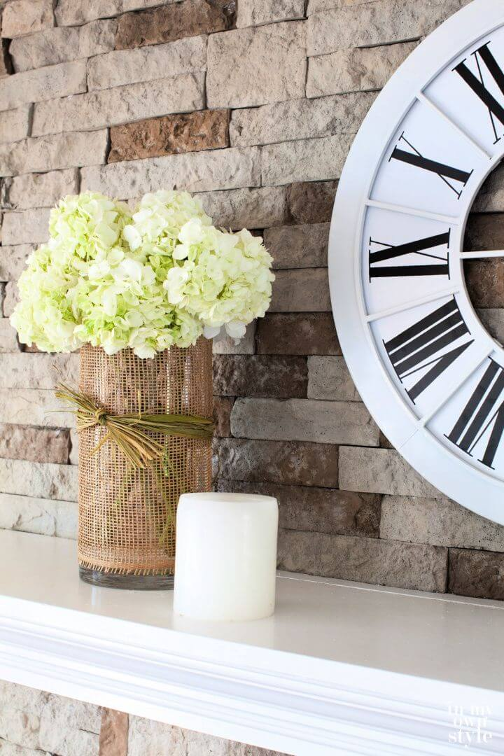 Cute DIY 5 minute Decorating Flower Vase