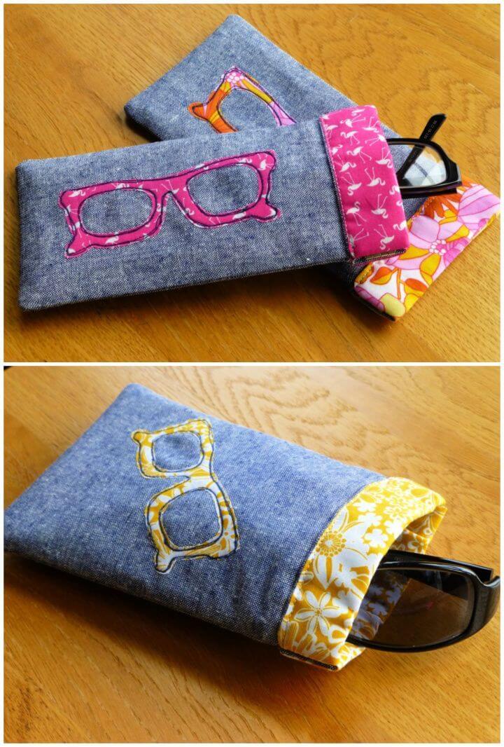 DIY Flex Frame Sunglasses Case Tutorial
