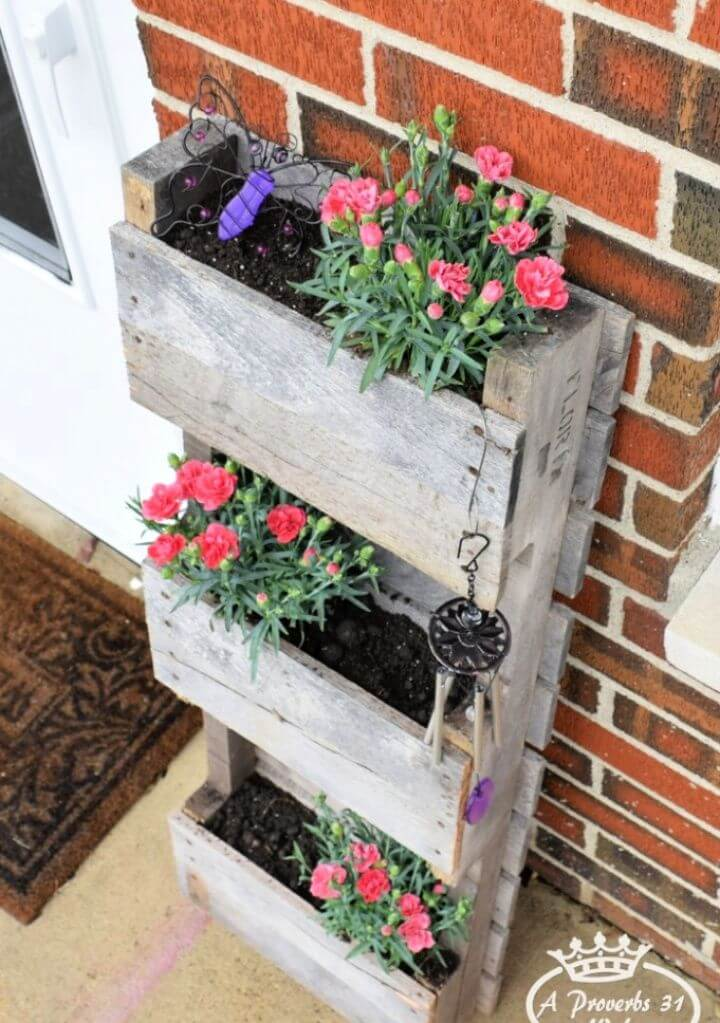DIY Pallet Planter for Butterflies