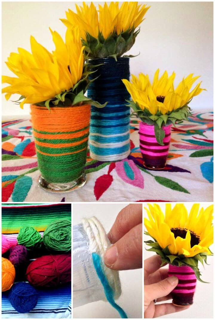 Easy A DIY Flower Vase