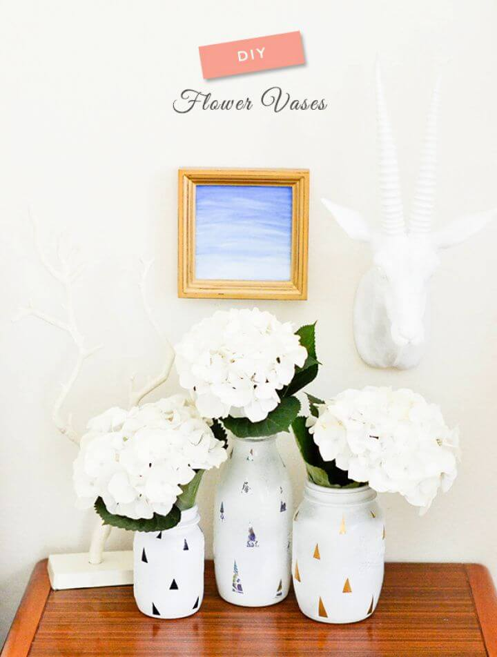 Easy DIY Flower Vase