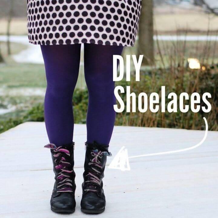 Easy DIY Shoelaces Step By Step Tutorial