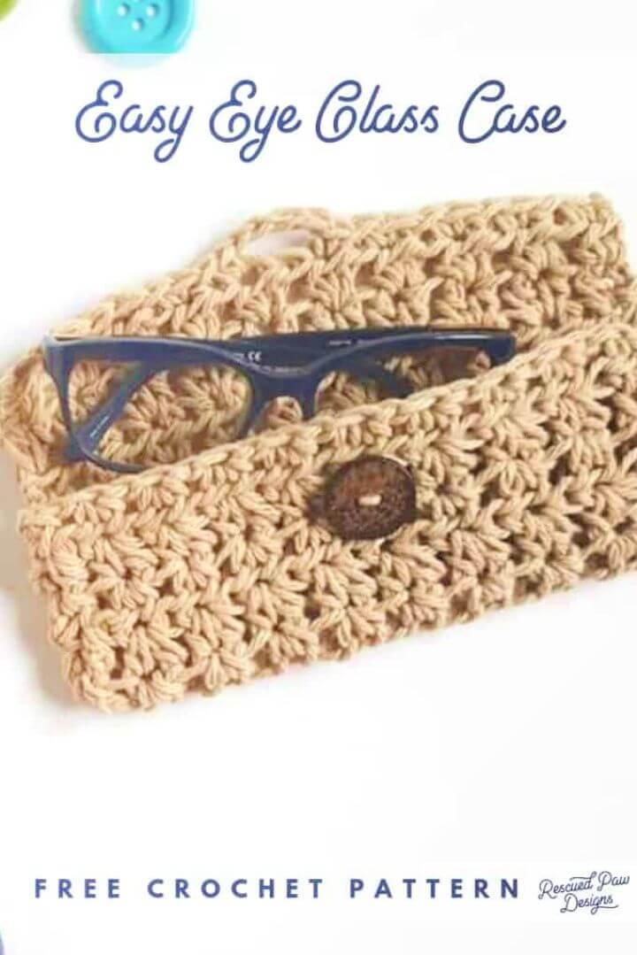 Free Crochet Glasses Case Pattern