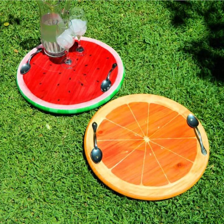 Fun And Easy DIY Summer Fruit Trays