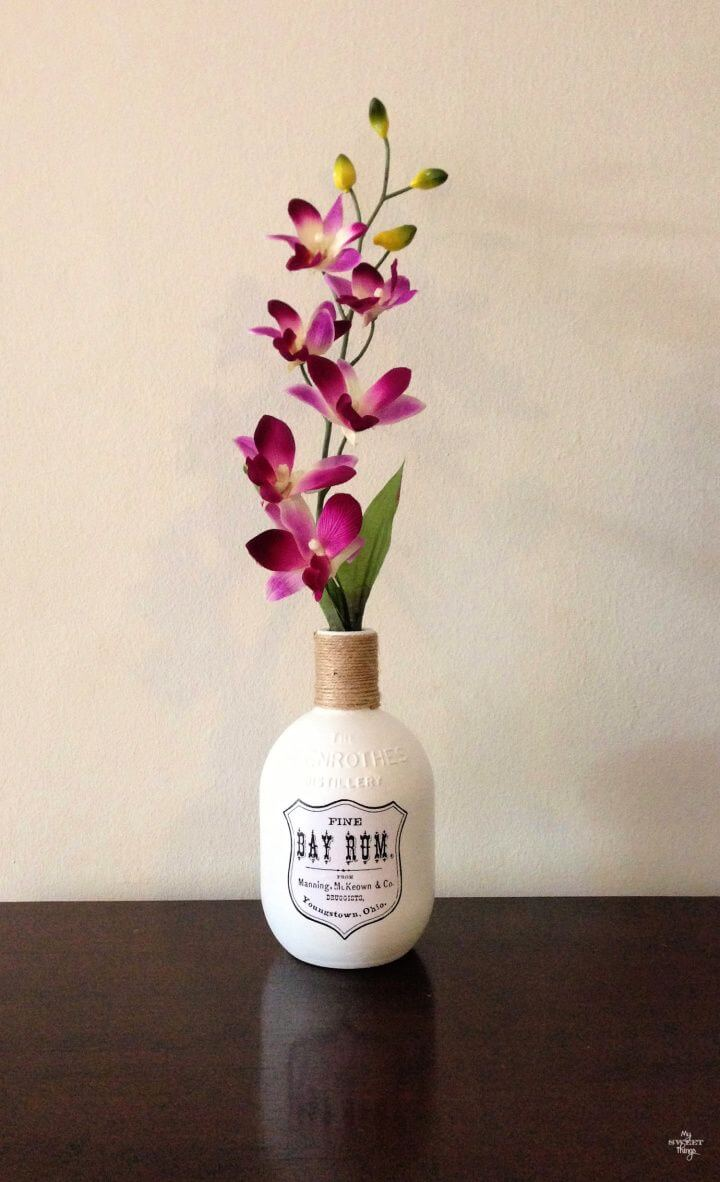 How To A DIY Flower Vase