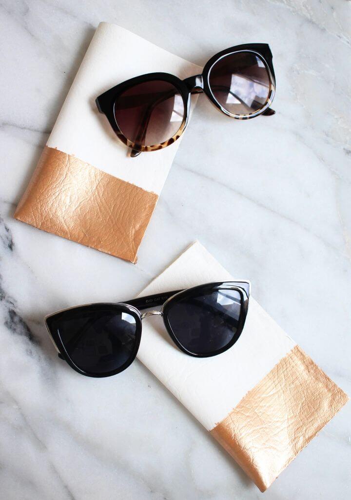 How To Create A DIY No Sew Sunglass Case