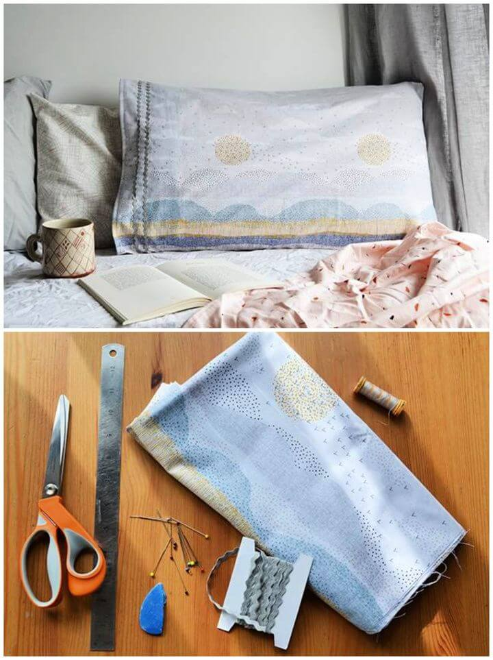 How To Create A DIY Seascape Pillowcase