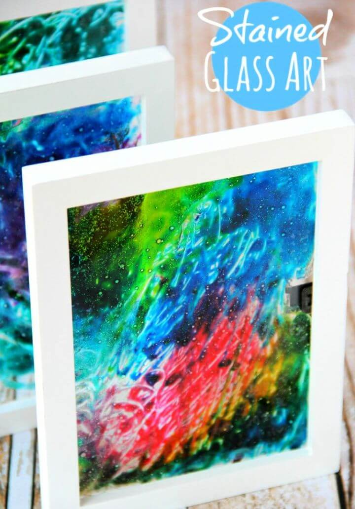 How To Create A DIY Stained Glass Art