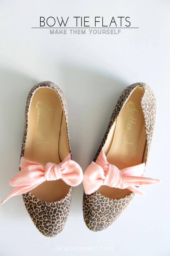 How To Create DIY Bow Tie Flats