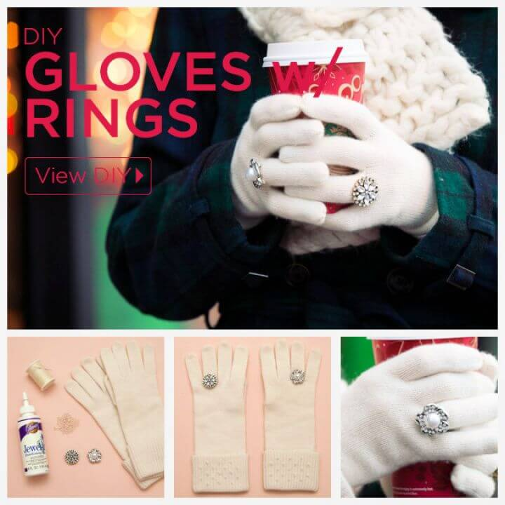 How To Create Your Own DIY Gloves With Rings