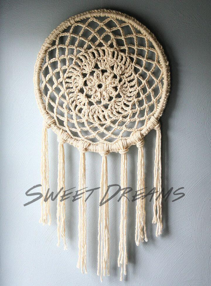 How To DIY Big Dreams Dreamcatcher