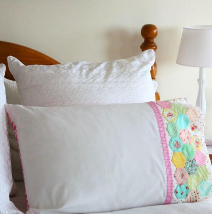 How To DIY Hexie Pillowcase