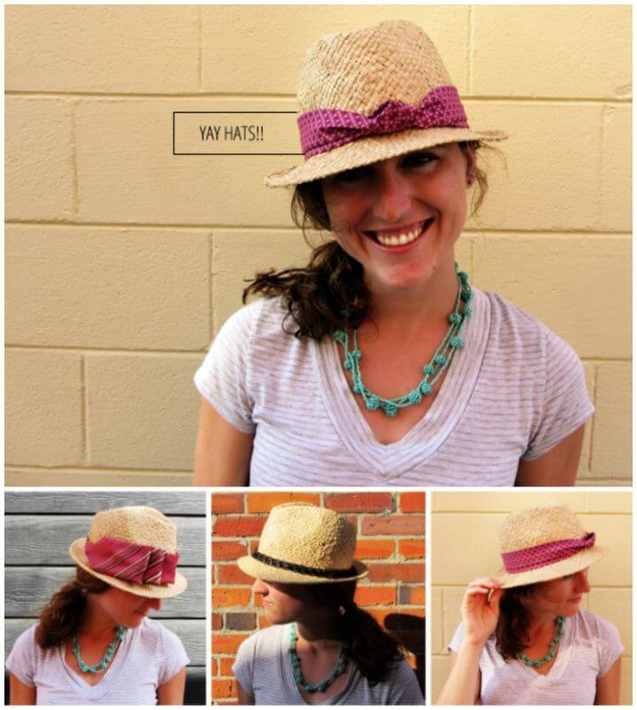 How To DIY Personalize Your Hat
