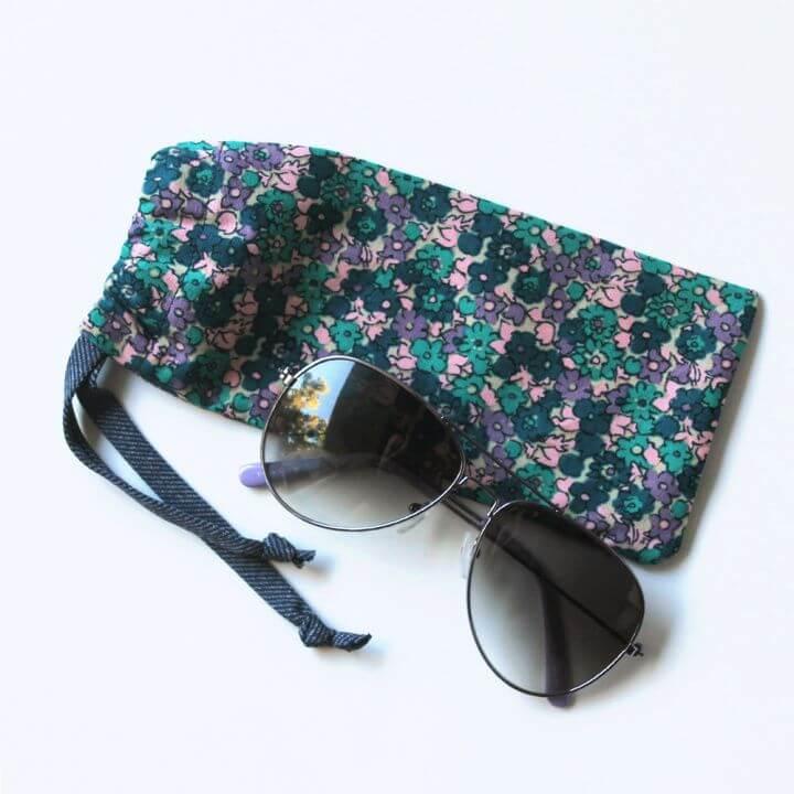 How To DIY Sunglasses Case