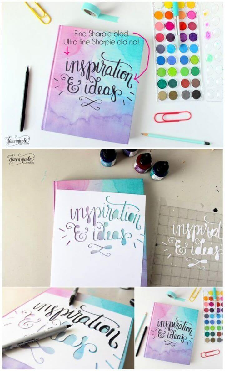 How To Easy DIY Inspiration Smashbook