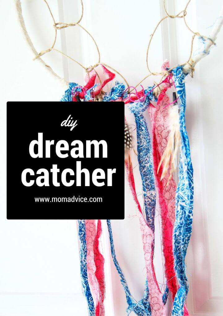 How To Make DIY Dream Catcher For Home Decor