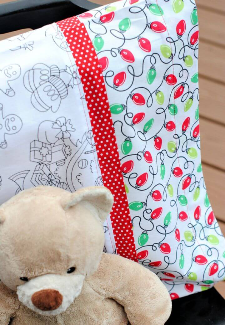 How To Make Your Own A DIY Pillowcase