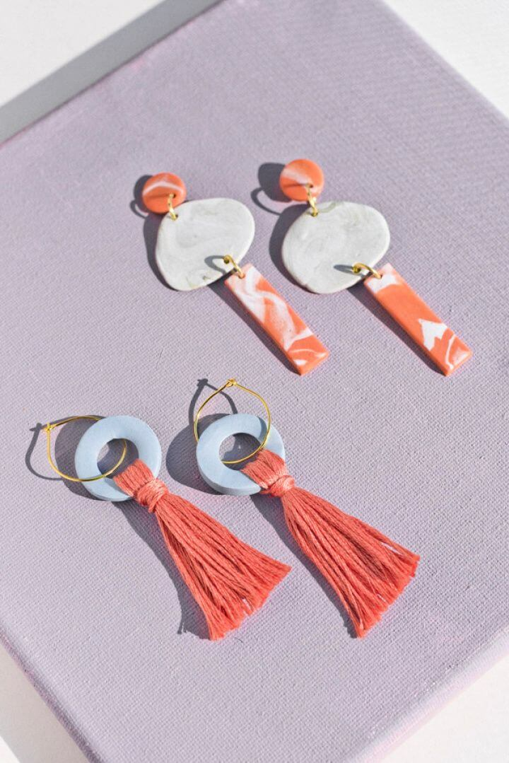 How To Make Your Own DIY Clay Earrings