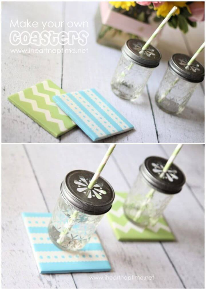 How To Make Your Own DIY Coasters