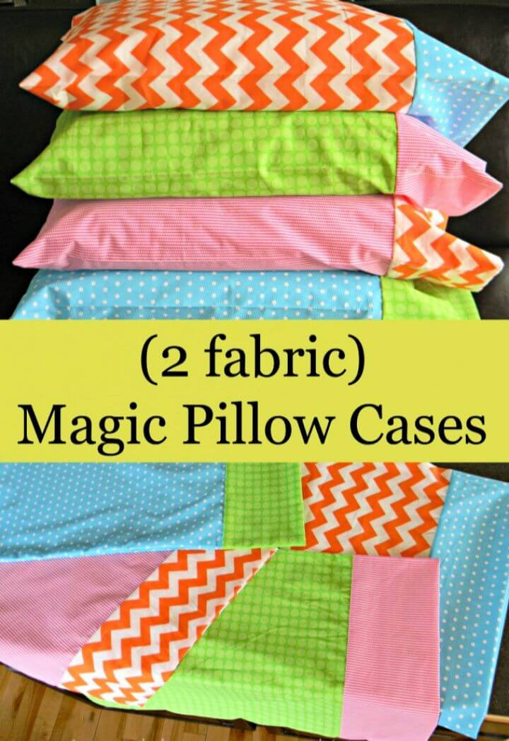 How To Make Your Own DIY Magic Pillowcase