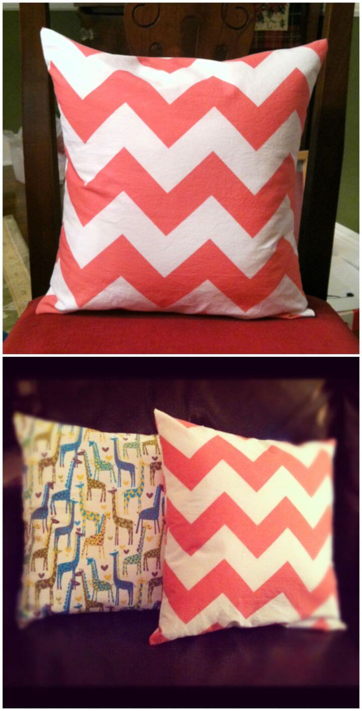 How To Make Your Own DIY Pillowcase
