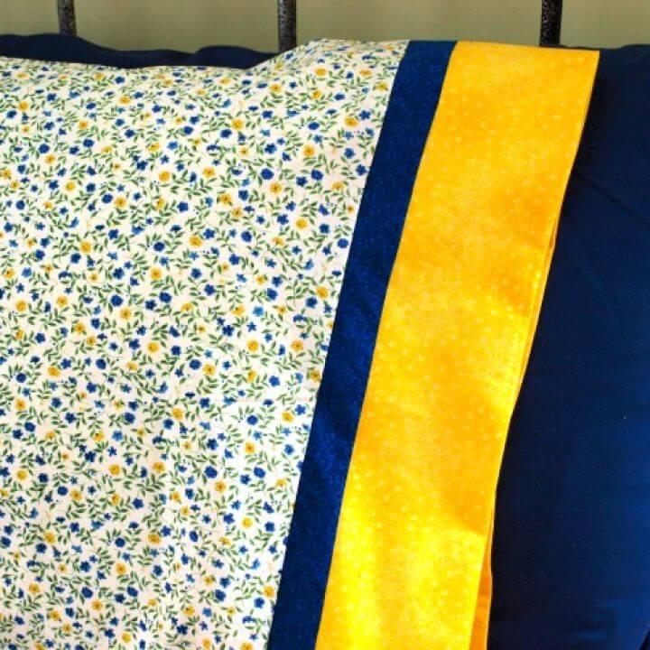 How to Make a DIY Pillowcase
