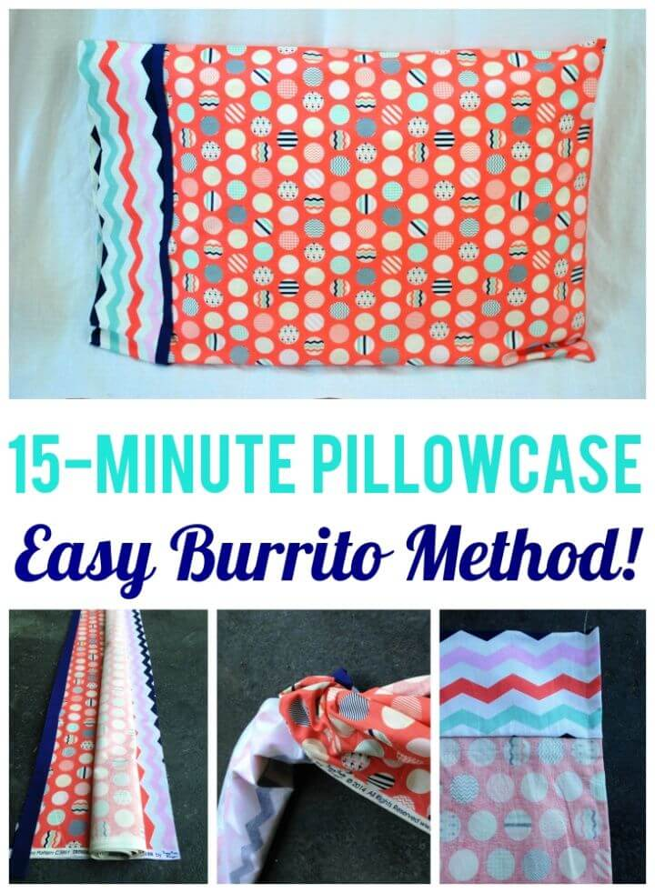 How to Make a Pillowcase in 15 Minutes