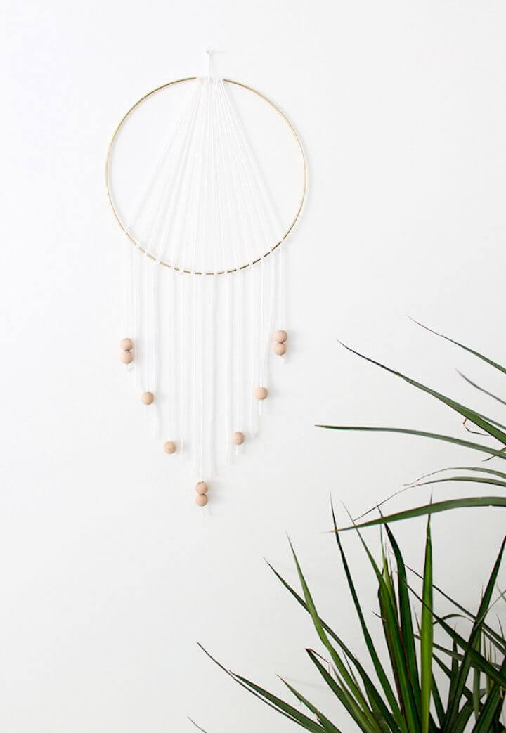 Modern DIY Dreamcatcher For Home