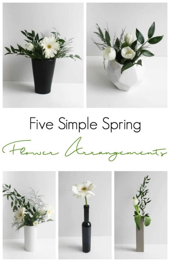 Modern DIY Flower Arrangements for Spring