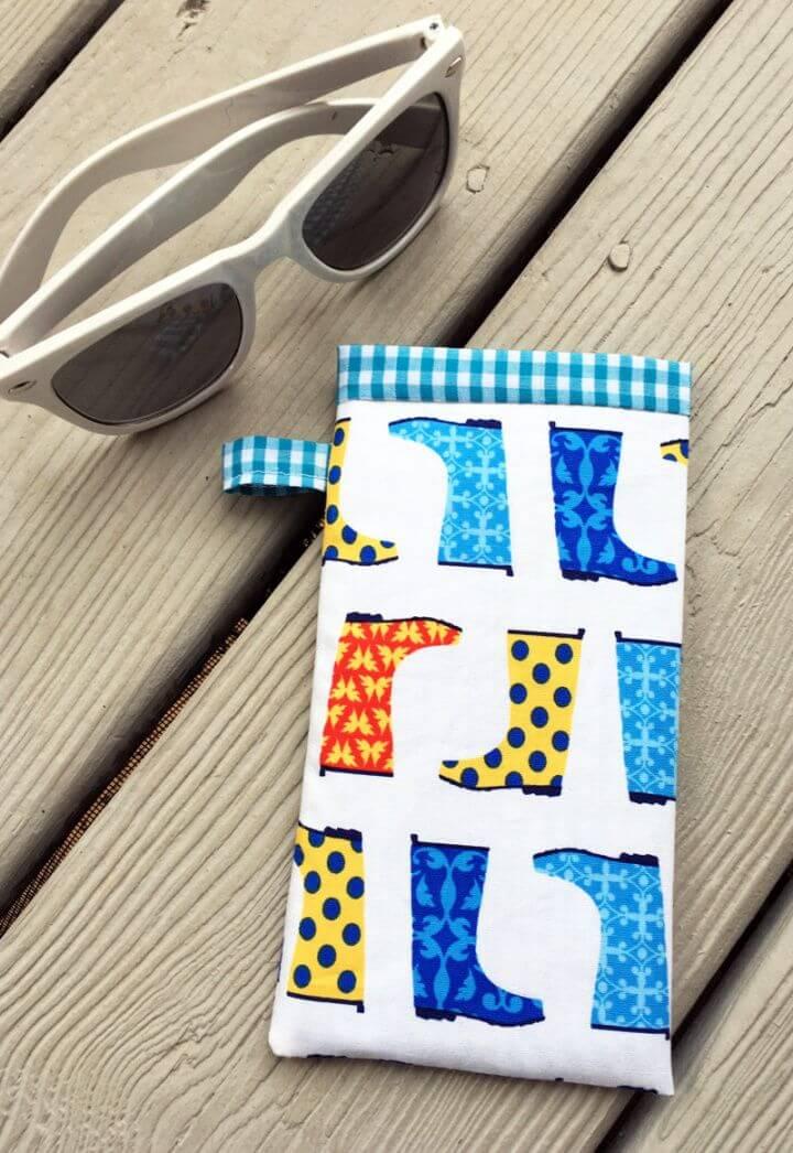 Sew Easy DIY Sunglasses Case