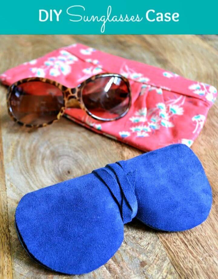 Super Chic DIY Sunglasses Case