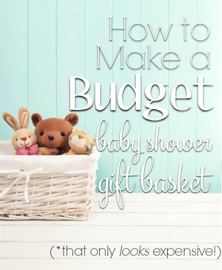 Baby Shower Basket Gift Idea