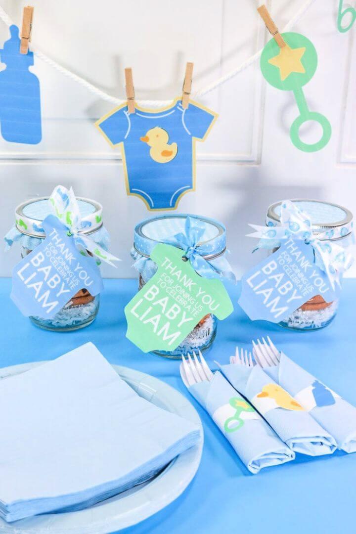 Baby Shower Favor – Cricut Print Then Cut