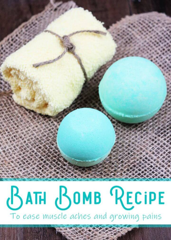 Bath Bombs To Ease Aches And Pains