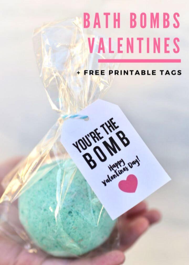 Bath Bombs Valentines