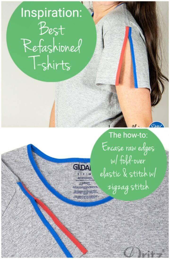 Best Refashioned T Shirts