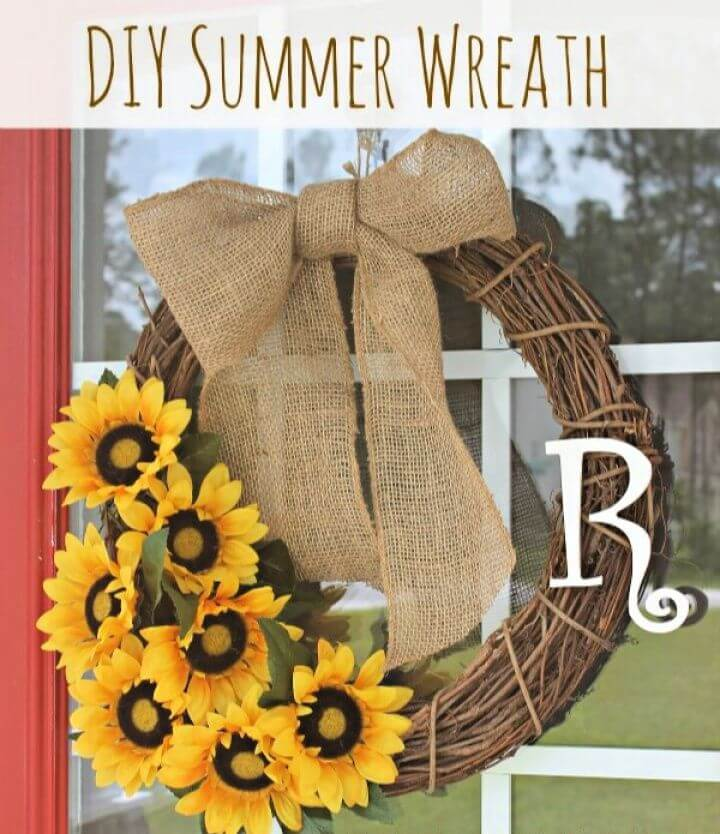 Best Summer Wreath And Huge Announcement