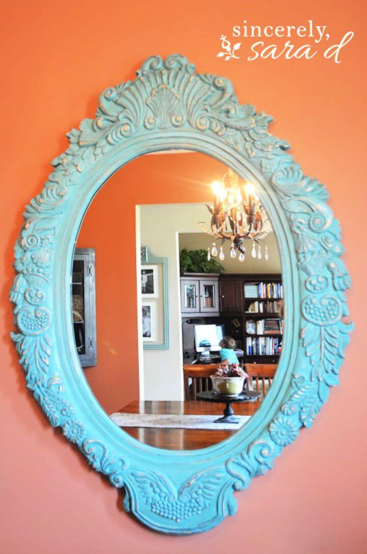 Chalk Paint Mirror