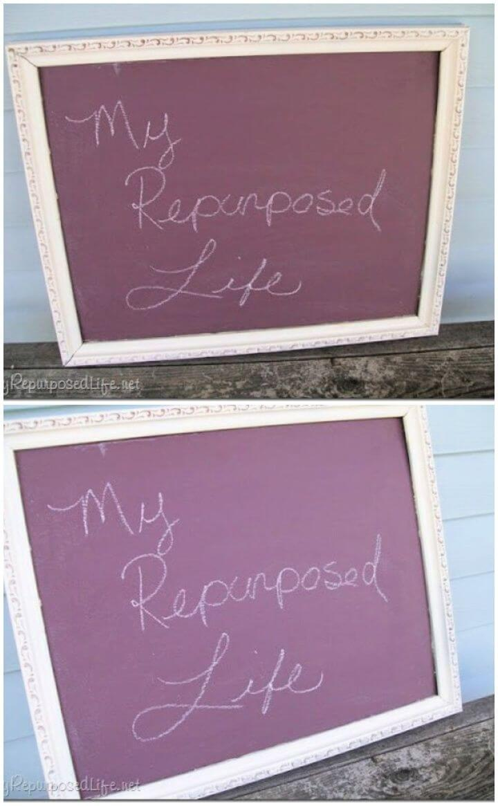 Chalkboard Paint Projects