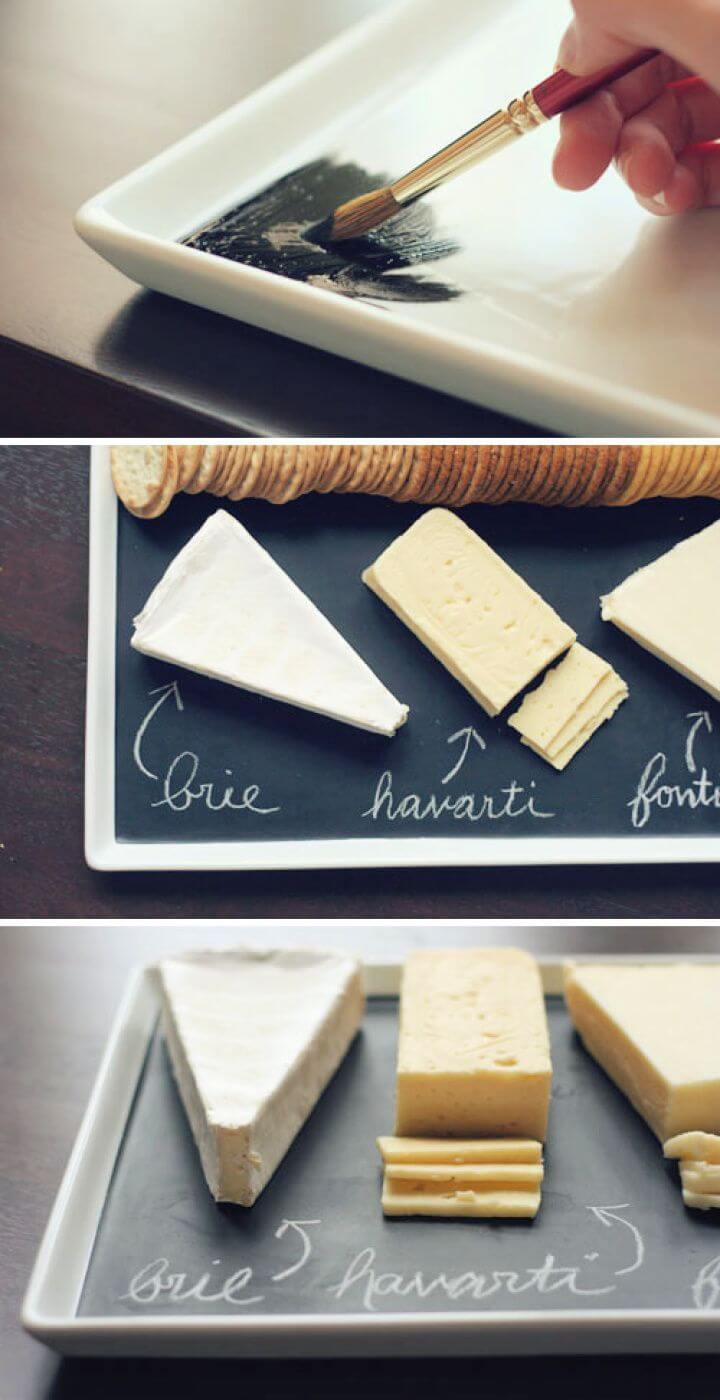 Chalkboard Serving Platter