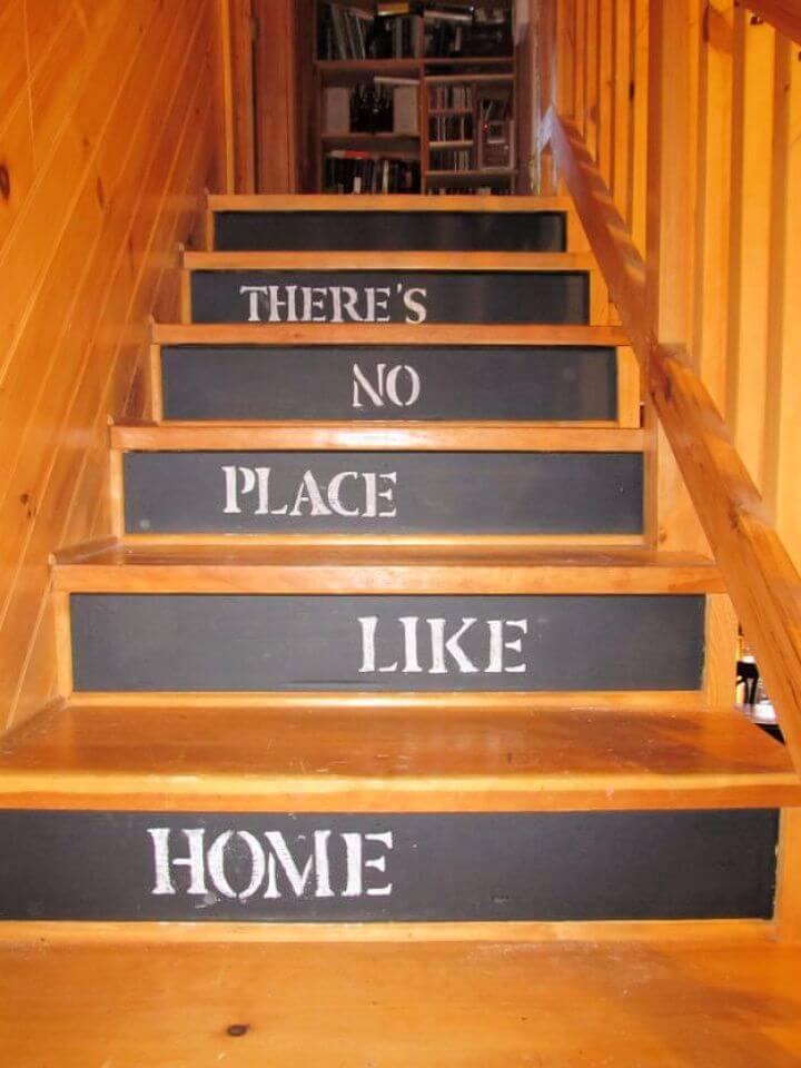 Chalkboard Stairs