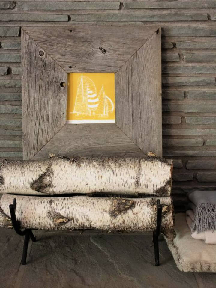 Create Your Own Rustic Picture Frame