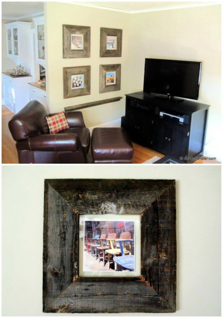 DIY Barn Wood Picture Frames