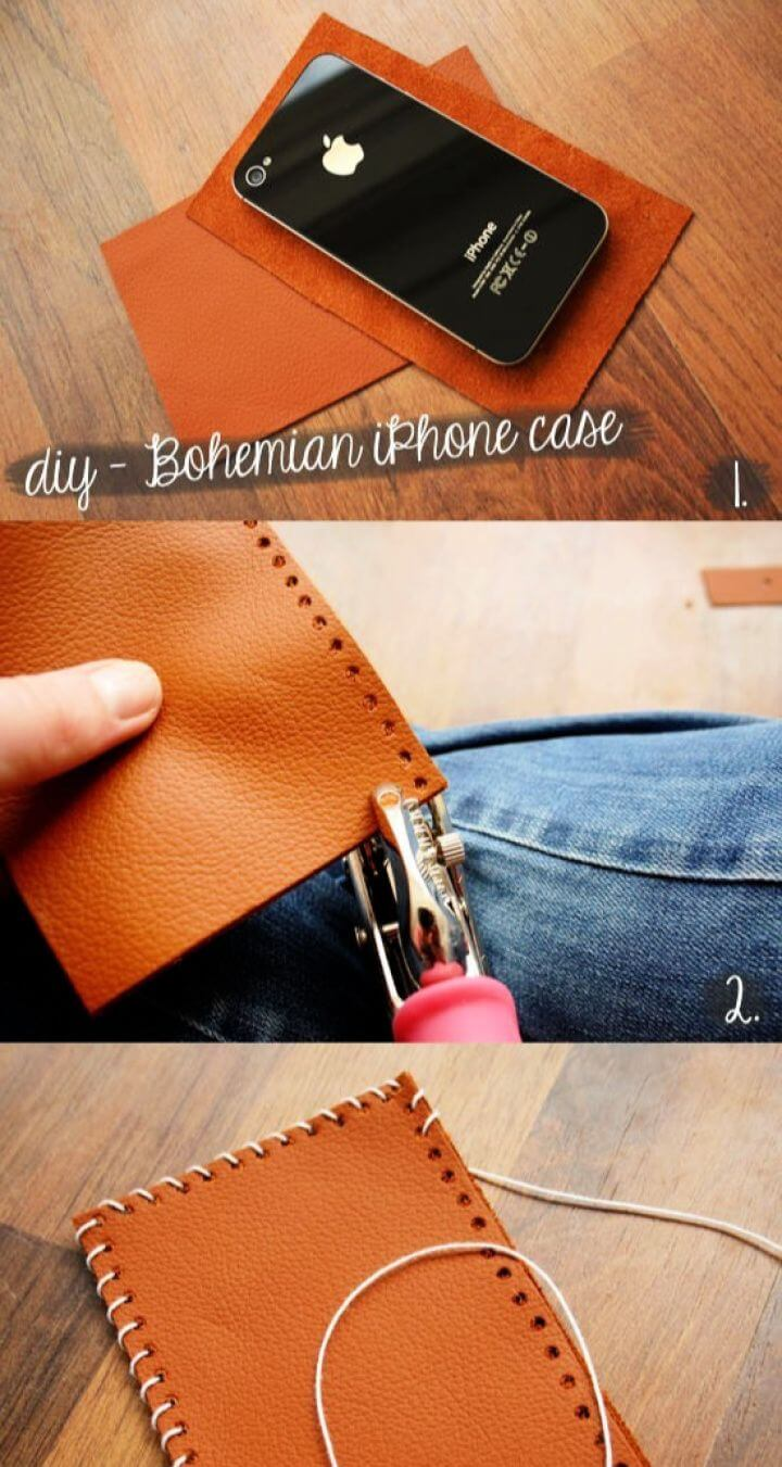 DIY Bohemian Style IPhone Case