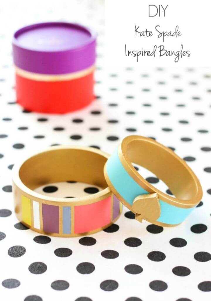 DIY Kate Spade Inspired Bangles