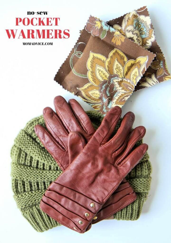 DIY No Sew Hand Warmers
